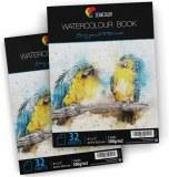 Lot de 2 Carnet Papier à Dessin et Peinture Aquarelle pour Artistes et Loisir Créatifs