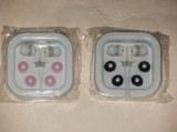 2 écouteurs pour MP3 - BLANC, ROSE et BLANC, NOIR neuf