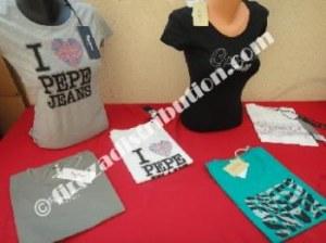 T-Shirts femme Guess/Pepe Jeans/Le temps des cerises.