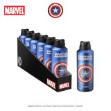 DEODORANTS CAPTAIN AMERICA 200ML - LICENCE MARVEL ( DESTOCKAGE )