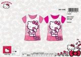 "Tee shirt ""Hello Kitty"" flowers"