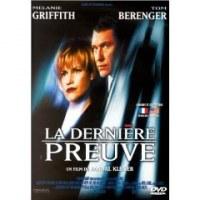 DVD La dernière preuve