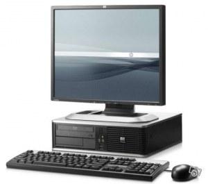 PC HP Core 2 Duo 3GHZ 1 Go Ram 250 Go DD + Ecran