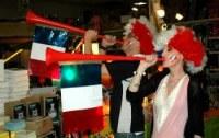 Vuvuzela avec Drapeau France