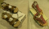 LOT CHAUSSURES ENFANTS MULTIMARQUES (BABYBOTTE...)
