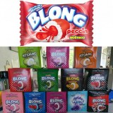 BLONG chewing gum Display 40pcs avec Bonne date 07 2022