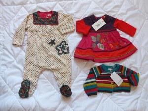 Catimini, Eliane et lèna, Petit bateau vêtement