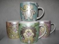 Mugs animaux 4 motifs