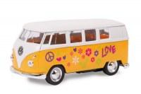 Miniature volkswagen Hippie