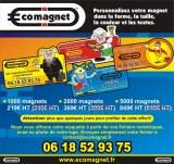 Ecomagnet magnet publicitaire