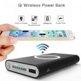 Chargeur wireless batterie externe Power Bank 30000 mAh