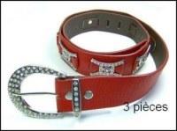 Destockage lot de 123 ceintures strass femme !