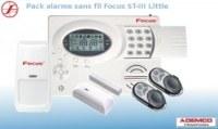 Pack alarme maison sans fil FOCUS ST-III Little.