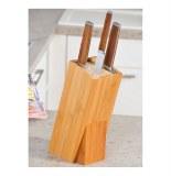 Bloc couteaux - bambou - support couteaux