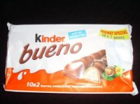 Kinder bueno white ou originale 2x10(430g)