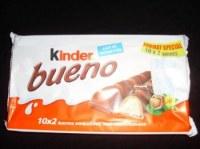 Kinder bueno white ou originale 2x10(430g)