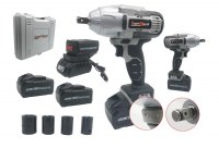 KRAFTMULLER KM-CORDLESS/IMPACT WRENCH/ CLE A CHOC 36V 4.0AH PRO LINE DOUBLE BATTER...