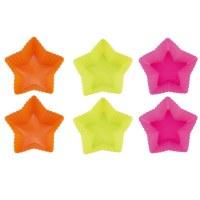 Blaumann BL-1273, Cinq étoiles moule à gâteau en silicone 6 pcs