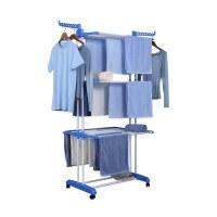 Herzberg HG-8034BLU: Porte-vêtements de Déménagement - Bleue 1