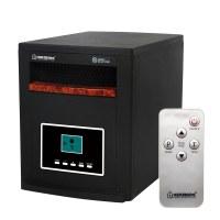 Herzberg HG-8073: Chauffage infrarouge Cabinet Quarts