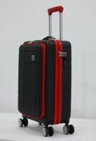 Herzberg Travel HG-8063BLK: Sac Cabine - Noir