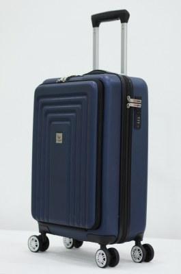 Herzberg Travel HG-8065BLU: Sac Cabine - Bleu