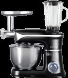 Royalty Line PKM-1900.7BG; Robot de cuisine 3 en 1 avec 1900 watts max Noire