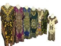 Vente de robes et textiles divers