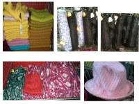 LOT n° 5 Accessoires/ Chapeaux parapluies foulards