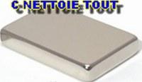AIMANTS NEODYME N45 SURPUISSANT 30mm X 20mm X 5mm 16 kg Magnétique NdFeB