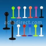Fournisseur Piercing Flexible Labret Acrylique