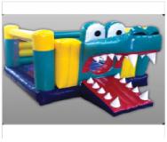 Château gonflable Alligator