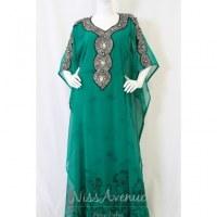 Vente robe de Dubaï manches courtes
