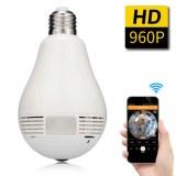 Suite faillite Lot de 70 caméras IP ampoule 360° 960P IR et motorisée 355° 720P IR