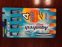 AquaFresh Brosse à dents Re-Flex soupleap blister de 4