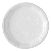 200 Assiettes rondes blanches 22cm