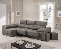 Canapé Duna 290cm angle avec assise coulissantes RELAX