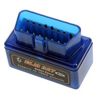 Le Plus Petit Diagnostic Automobile Scanner ELM327 V1.5 Bluetooth lecteur de code OBD2...