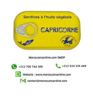 Huile végétale Sardines