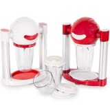 Batteur Mixeur Smoothie Express (blanc ou rouge)