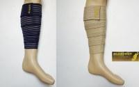 Bande bandage mollet élastique strapping - protège mollet réglable - blessures du molle...