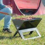 SHOP-STORY - FOLDYQ : Barbecue Pliable et Portable à Charbon