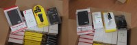 Lot 54x batterie externe chargeur prise secteur 10W voiture Apple/Samsung/Huawei