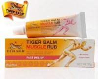 Crème Chauffante Relaxante Muscle Rub, Authentique Baume du Tigre pour Douleurs Muscula...