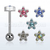Grossiste Body Piercing Acier Chirurgical Barbell Langue
