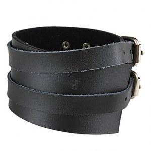 Bracelet fantaisie style punk ( noir )