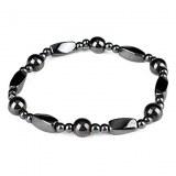 Bracelet bijoux fantaisie de couleurs gris metalise ( mixte )