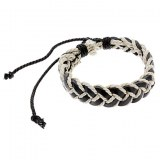 Bracelet ethnique en tissus tresse, tres tendance