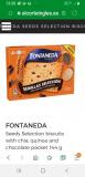 BISCUITS CHOCOLAT FONTANEDAT