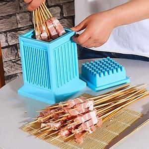SHOP-STORY - Easy Brochettes : Fabrique à Brochettes pour Barbecue 49 Trous